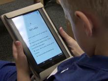 Raleigh school first in county to use eReaders