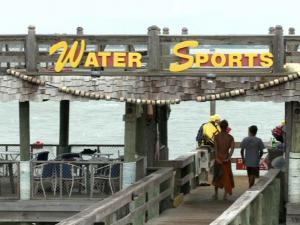 Summer tourism at the North Carolina coast
