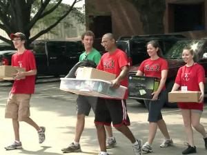 "Incoming college freshmen flooded the Triangle's college campuses for ""move-in weekend"" on Saturday, but say they're worried that after a dreary week on Wall Street, they could become ""Generation Jobless."""