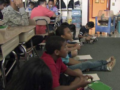 "Barwell Road Elementary in Raleigh is a ""Renaissance School,"" where district staff hope to turn around low test scores with a handpicked staff, new technology and more instructional time. The federal Race to the Top grant money paid for the changes."