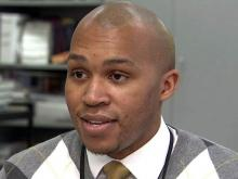 Jason Jowers, an assistant principal at Hillside High School in Durham