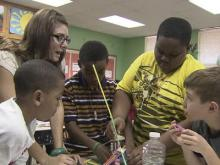 York Elementary using STEM teaching method