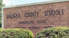 Halifax County Schools sign 16x9