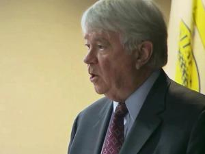 W. Louis Bissette led the Board of Governors panel which reviewed how UNC reacted to reports of academic fraud.