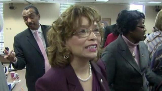 Debra Saunders-White was named chancellor of North Carolina Central University during a Feb. 8, 2013, meeting of the UNC Board of Governors.