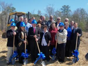 Thales Academy broke ground Thursday for the private school's newest junior and senior high school complex, the chain's second high school in the Triangle.