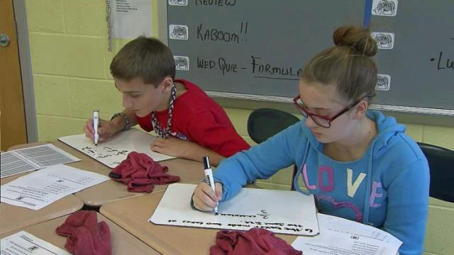 Results in for new, tougher standardized tests