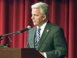 Roanoke Rapids Graded School District Superintendent Dennis Sawyer