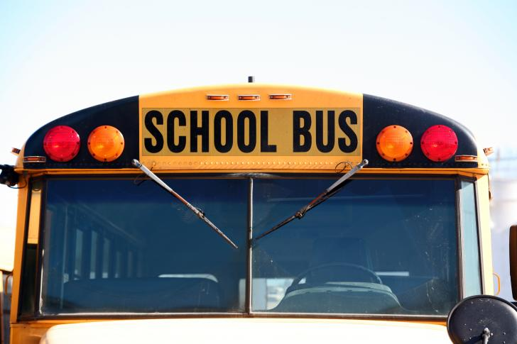 Student burned after 'intentional' bus fire