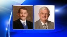 Superintendent Tim Farley and Associate Superintendent Allan Jordan