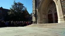 Muslim call to prayer at Duke