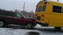 IMAGES: Schools blasted again for response to winter weather