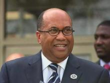 Web only: St. Aug's introduces new president