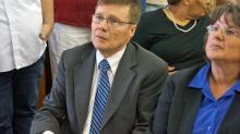IMAGES: Grimesey reinstated as Moore County superintendent