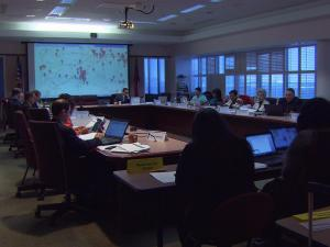 The state's Charter Schools Advisory Board meets on Jan. 12, 2016.