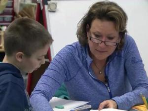 Kathy Wall, a teacher at Ballentine Elementary School, is WRAL's teacher of the week for Feb. 3, 2016.