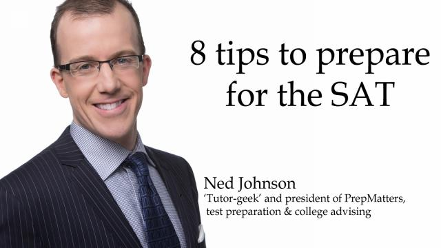 """Ned Johnson, PrepMatters' founder and author of """"Conquering the SAT"""""""
