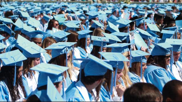 The UNC-Chapel Hill class of 2016 celebrated commencement on Sunday. Photos by: Staci Green