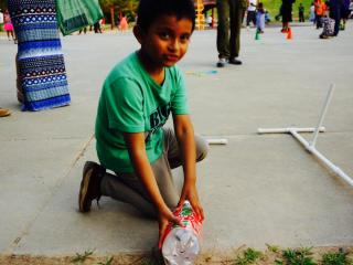 W.G. Pearson Elementary School teamed up with local Cub Scouts and Boy Scouts for a rocket launch event Tuesday night.