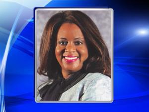 Melody Chalmers, principal of E.E. Smith High School