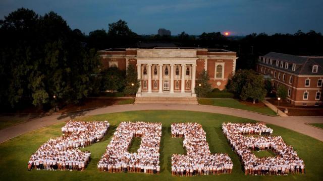 Duke graduation