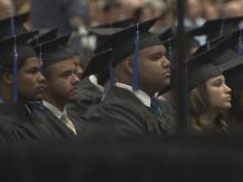 Panther Creek High School graduation