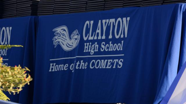 Clayton High School 2016 Graduation  (Photo By: Beth Jewell/WRAL Contributor)