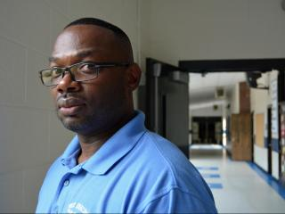West Edgecombe Middle School Principal Claude Archer