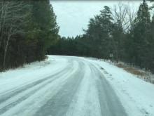 Raw: Orange County roads remain icy