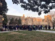 Duke students say travel ban targets vulnerable population