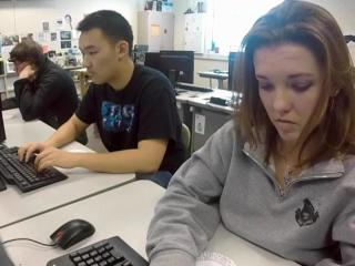 """At Green Hope High, students learn to be the """"good guys,"""" the """"white hat"""" hackers, and the scholarship offers and job prospects follow."""