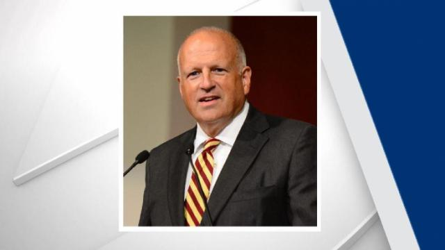 Leo M. Lambert announced Monday that he will step down as president at Elon University.