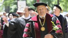 IMAGES: Elon University president to step down, taking yearlong sabbatical