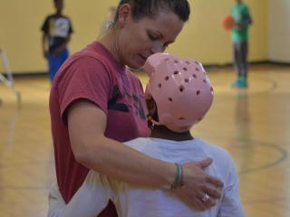Lara Brickhouse, an adapted physical education teacher at Durham Public Schools, was named the National Adapted Physical Education Teacher of the Year.