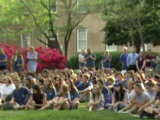 April is sexual assault awareness month and a number of college campuses, including the University of North Carolina at Chapel Hill, are taking up conversations about how to end sexual violence.