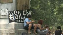 'Silence Sam:' Protesters continue fighting for monument removal