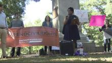 Raw: UNC students rally to save Center for Civil Rights