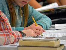 Student, class, school, writing