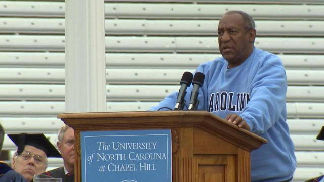 The University of North Carolina at Chapel Hill awarded Bill Cosby an honorary degree in 2003 and now wants to rescind it because of the comedian's sexual assault conviction.