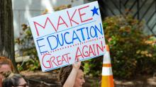 IMAGES: Many signs, 1 message: Fund education