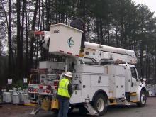Duke Energy linemen