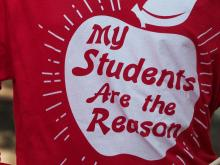 May 1, 2019 Teacher Rally in downtown Raleigh