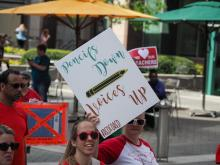 Teachers Rally, May 1 2019 - Downtown Raleigh