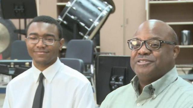 Athens Drive High School senior graduating with 28 scholarship