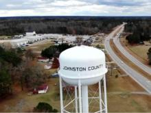 Johnston County water tower