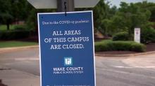 IMAGES: Wake school board votes to start school year online-only