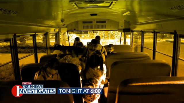 WRAL Investigates: School bus safety during the COVID-19 pandemic