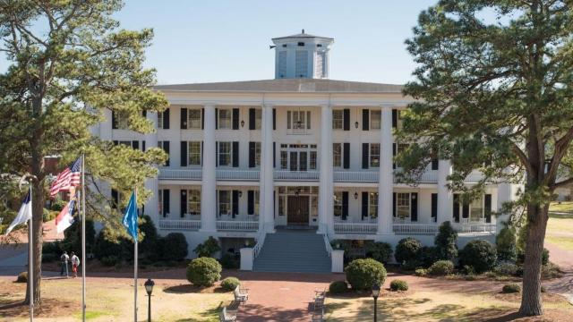 Chowan University, photo from the Univeristy's Facebook page.