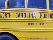 Harnett County school bus