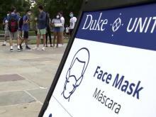 Duke has yet to report a single cluster of coronavirus cases